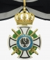 Mobile Preview: Prussia Royal House Order of Hohenzollern Cross of the Commandery with swords