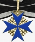 Preview: Prussia Order Pour le Merite for military merit - Order cross with oak leaves