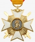 Preview: Reuß Princely Reussian Cross of Honor 2nd class with swords