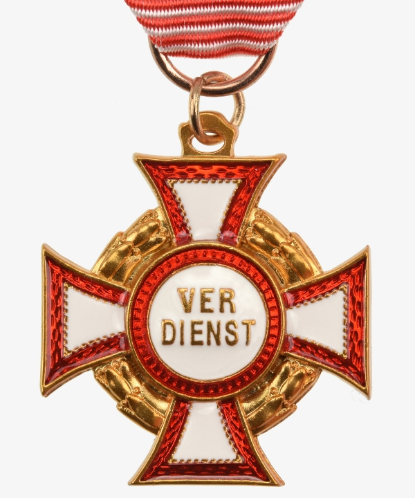 Austria Military Cross of Merit. 2nd model 3rd class
