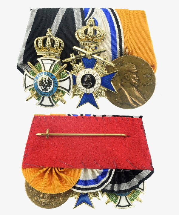 Ordensspange House Order Hohenzollern, Bavaria Military Order of Merit, Centenary medal