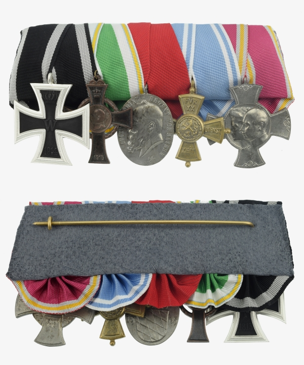 Medal Ribbon War Merit Cross, Security Service Award, Alexandra Cross, Luitpold Medal, Iron Cross