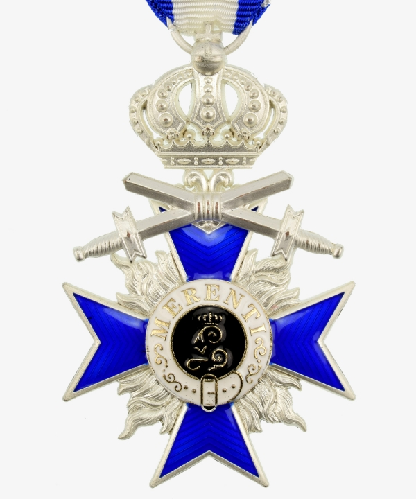 Bavaria Military Order of Merit Cross 4th class with crown and swords
