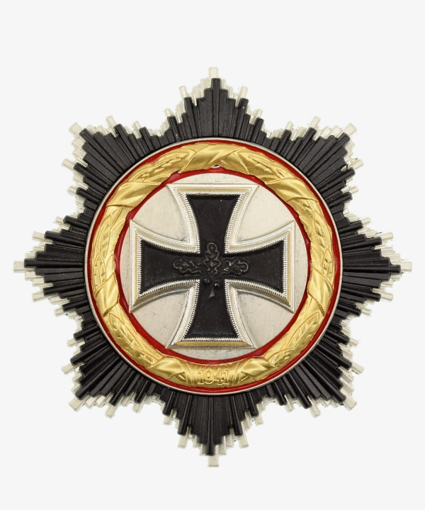 Breast Star German Cross in Gold