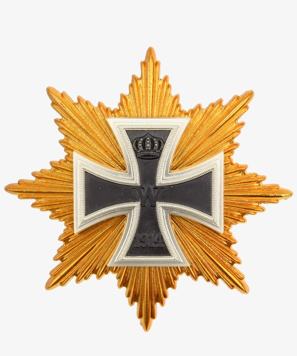 Breast Star to the Grand Cross of the Iron Cross Hindenburgstern