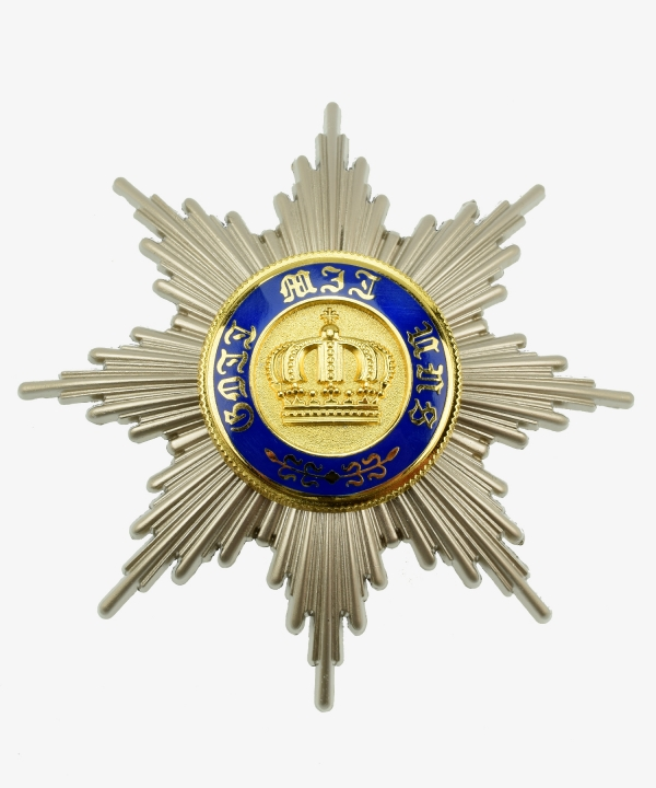 Prussia Royal Crown Order breast star for the 1st class 1869-1916