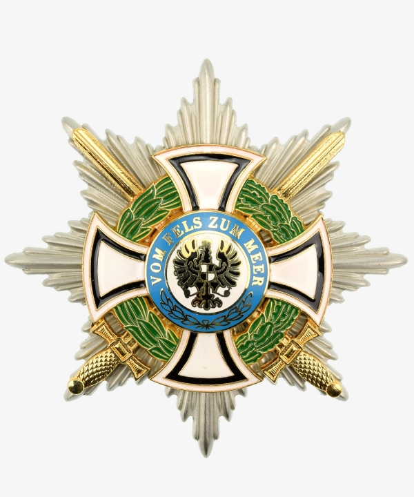 Prussia Royal House Order of Hohenzollern Breast Star of the Commandery
