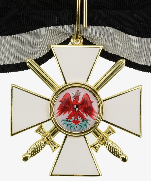 Prussia Red Eagle Order - 2nd class cross with swords
