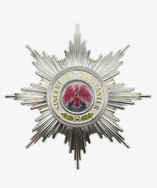 Prussia Red Eagle Order Breast Star 1st class 1854 - 1918