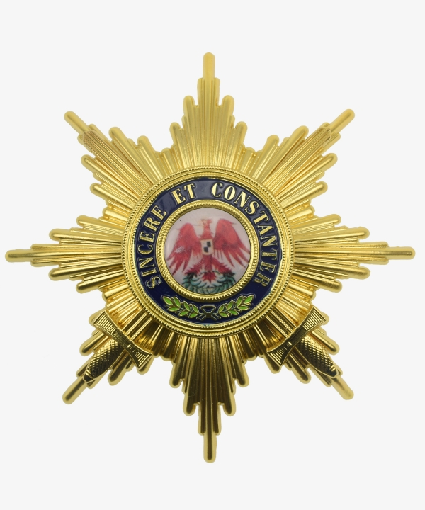 Prussia Red Eagle Order Breast Star to the Grand Cross with Swords