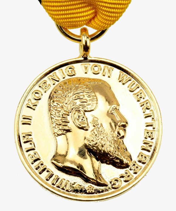 Württemberg, Golden Military Medal of Merit 1892