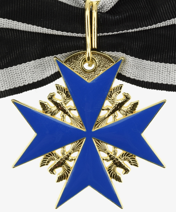 Prussia Order Pour le Merite for military merit - Order cross with oak leaves