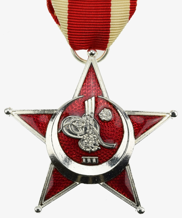 Turkey Iron Crescent Gallipoli Star 2nd Class Ottoman Empire