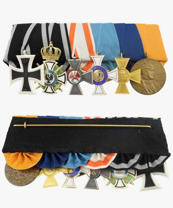 Iron Cross Order Cross 1914, House Order Hohenzollern, Red Eagle Order, Crown Order, Service Award, Centenary Medal