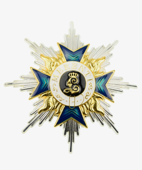 Bayern Military Order of Merit Bruststern for 2nd class