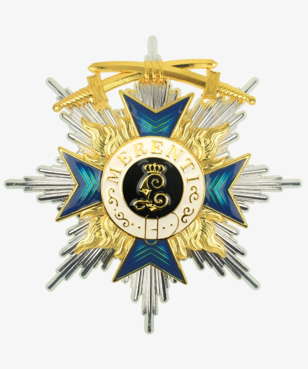 Bayern Military Order of Merit Bruststern 2nd class with swords
