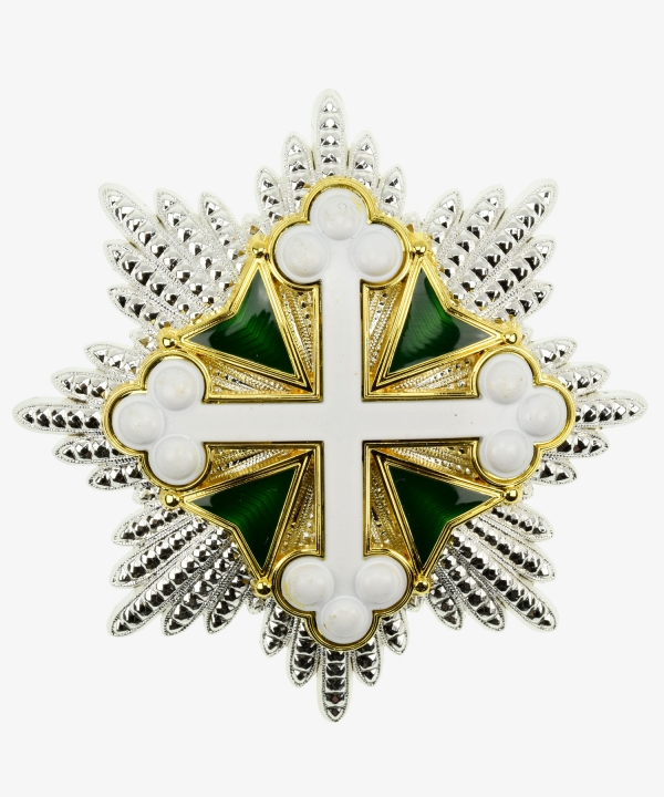 Breast Star Order of Saint Mauritius and Lazarus Italy