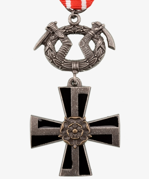 Finland, Liberty Cross 4th class with swords, 1941