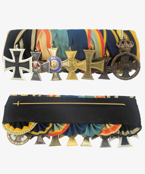 Iron Cross Order Cross 1914, Red Eagle Order, Crown Order, Service Award, War Merit Cross, Saxony Meiningen merit in the war