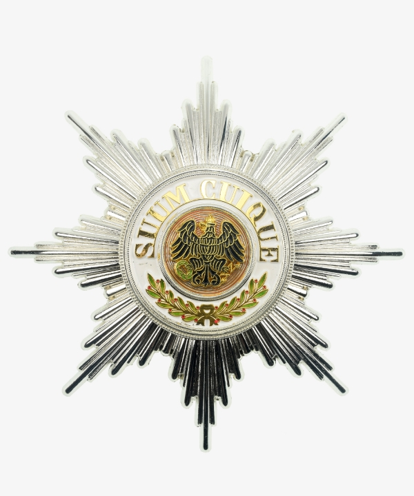 Prussia Black Eagle Order breast star