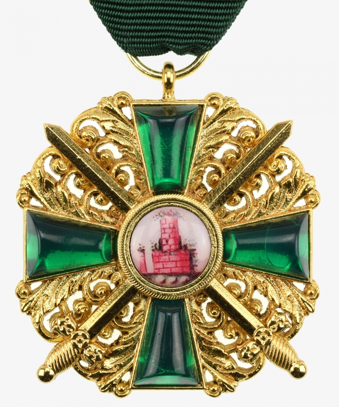 Baden Order of the Zähringer Löwen Knight's Cross 2nd class with swords