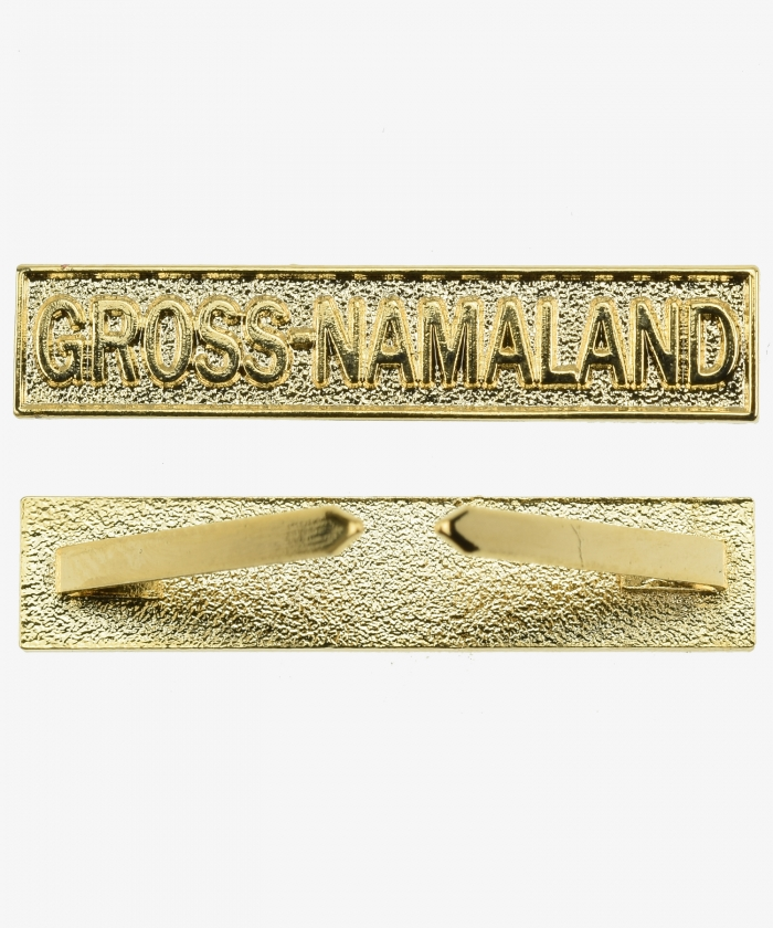 Battle Clasp (GRAND MAMALAND) to Southwest Africa Memorial Coin