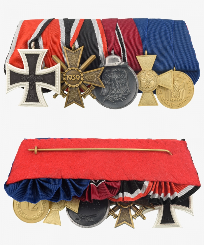 Medal Ribbon Iron Cross 1939, war merit cross, winter battle, service award