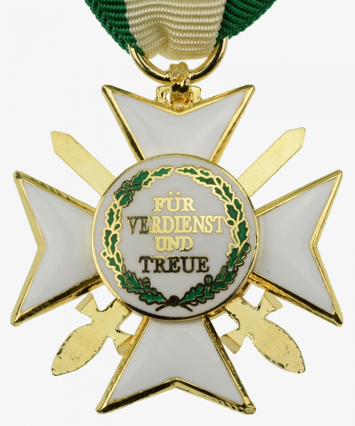 Saxony Order of Merit Knight's Cross 2nd class with swords