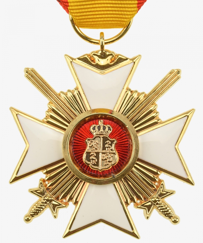 Reuß Princely Reussian Cross of Honor 2nd class with swords