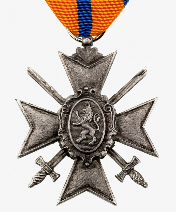 Princely Schwarzburgisches Cross of Honor Cross 4th class with swords
