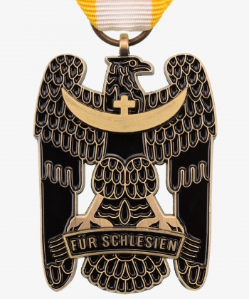Silesian Probation Badge 1st Level, 1921 (enamelled)