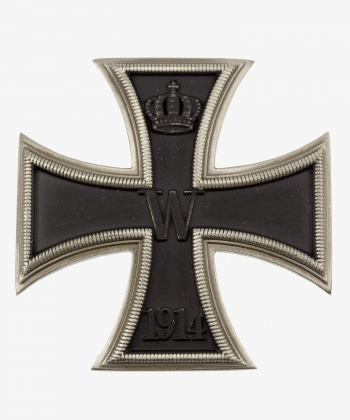 Iron Cross 1st Class 1914 Arched (Nickel Silver)