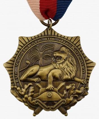 Colonial award (Lion Order) 2nd class Bronze
