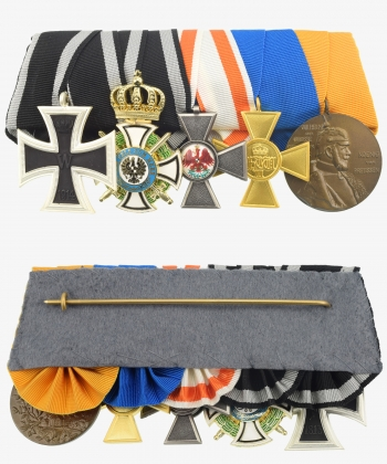 Medal Ribbon Iron Cross 1914, House Order Hohenzollern, Red Eagle Medal, Service Award, Centenary Medal