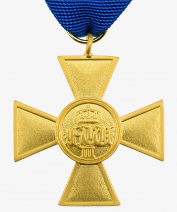 Prussia service award for officers 1825 (2nd form around 1840)